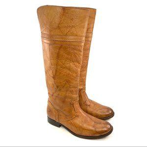 Frye Melissa Trapunto Boot western wash size 6.5